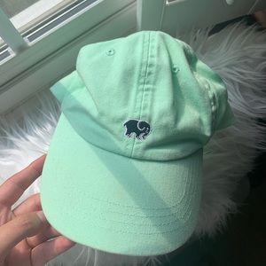 Mint Ivory Ella baseball cap